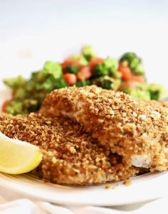 This Crispy Oven Baked Grouper recipe checks all of the boxes; this oven baked fish is quick, easy, fuss-proof, foolproof, and every last bite of the fish is pure crunchy, flaky, deliciousness! #dinner, #dinnerrecipes, #easydinner, #easyrecipes, #fish, #healthyrecipes, #sundaysupper Baked Grouper, Grouper Fillet, Grouper Fish, Grouper Recipes, Fish Recipes, Seafood Recipes, Cooking Recipes, Cod Recipes, Healthy Cooking
