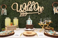 Wild one first birthday