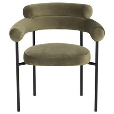 Dining Arm Chair, Dining Room Chairs, Metal Chairs, Chair Fabric, Interior Design Services, Upholstered Chairs, Modern Classic, Modern Contemporary, Armchair