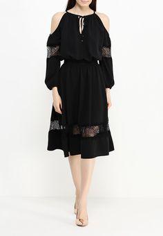 Платье LOST INK SOLITA COLD SHOULDER LACE INSERT DRESS купить за 1 990руб LO019EWGVA52 в интернет-магазине Lamoda.ru