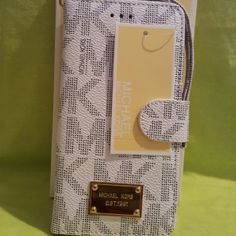 Mk case wallet galaxy note 4 color white Mk Michael Kors Accessories Phone Cases