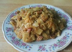 Potato Salad, Cabbage, Potatoes, Meat, Chicken, Vegetables, Yummy Yummy, Ethnic Recipes, Food