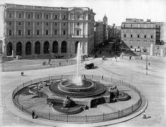 Piazza della Repubblica, 1890, Rome, Italy
