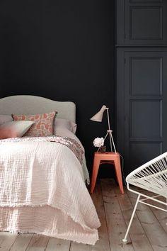 Couleur foncée : 12 belles couleurs de peinture sombre - CôtéMaison.fr
