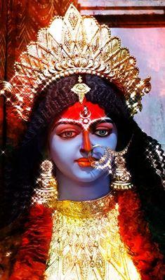 Maa Durga Image, Durga Maa, Durga Goddess, Mata Rani, Durga Images, Spiritual Images, Captain Hat, Hats, Hat