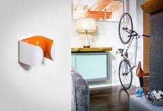 Clug Bike Rack vertical storage space
