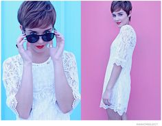 Lovely Lace. (by Samatha  Law) http://lookbook.nu/look/3881458-Lovely-Lace