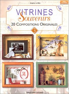 French Dollhouse Book - Vitrines souvenirs : 20 compositions originales - Brigitte Le Dilly - Livres