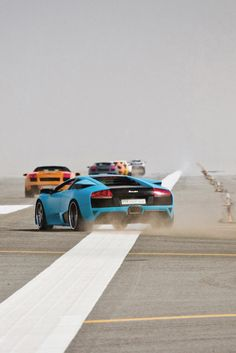 Lamborghini Murciélago LP 640 takes off!!
