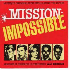 MISSION IMPOSSIBLE (Genre Série d'espionnage) est une série télévisée américaine  créée par Bruce Geller , diffusée entre le 17 septembre 1966 et le 30 mars 1973 .En France, les premières saisons de la série seront diffusées à partir du 10 octobre 1967 sur la deuxième chaîne de l'ORTF..................