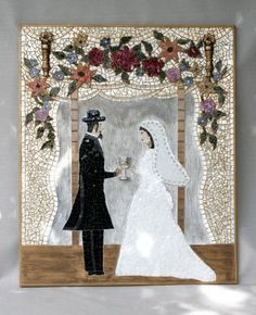 Beautiful Judaica mosaic