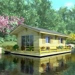 Ongewoon wonen: een drijvend huis