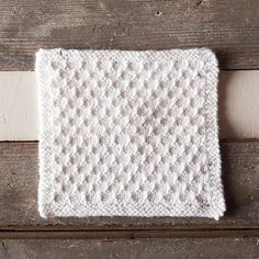 Snowbank Spa Cloth Free Pattern from Knit Picks, maybe good for Babies