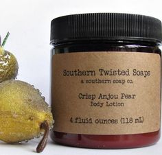 Crisp Anjou Pear Lotion  Limited Edition by SouthernTwistedSoaps