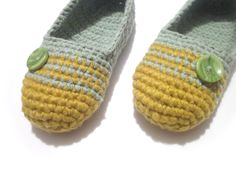 crochet slippers grey olive woman house slippers by ukraisa