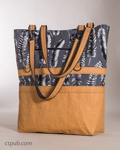 The 3-in-1 Betsy Bag – Sewing ePattern/eBook with kraft-tex