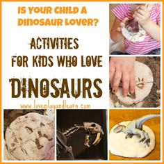 Fun Activities for Kids who Love Dinosaurs!