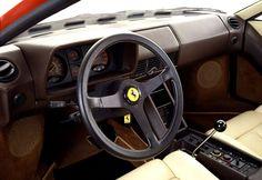 1984 Ferrari Testarossa interior