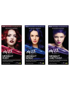 Splat Delivers Vivid Hair Color Without Bleach for Brunettes