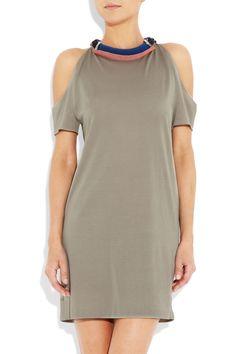 3.1 PHILLIP LIM embellished cutout silk and coton blend dress $375.00 net-a-porter.com