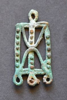 Amlash bronze pendant 15, 1st millenium B.C. Private collection