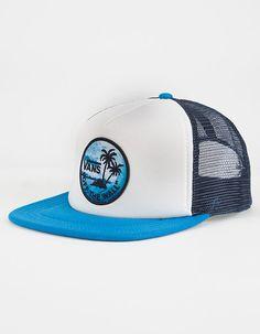 VANS Stay Classic Mens Trucker Hat - WHITE - VN0006I6WHT 38aa344094d9