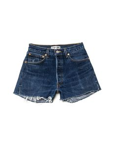 re / done for levi's high rise short  (size 25)