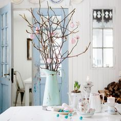 shabby chic kitchen designs – Shabby Chic Home Interiors Casas Shabby Chic, Shabby Chic Mode, Shabby Chic Style, Parisian Chic, Shabby Chic Colors, Cottage Chic, Cottage Style, Shabby Cottage, Country Decor