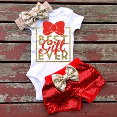 A person searched for: newborn baby gift!, find thousands of hand made, old, and distinct goods and gifts regarding your desired look. Cute Baby Girl Outfits, Cute Baby Clothes, Baby Girl Fashion, Toddler Fashion, Baby Christmas Onesie, Christmas Baby Clothes, Christmas Sweaters, Diy Upcycled Clothing No Sew, Baby Sewing Projects