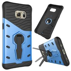 For Samsung Galaxy S6 Edge case,Original Armor Hybrid Anti-Shock Protection Case Stand Holder Back Cover Samsung S6 Edge