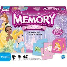 Memory Game Disney Princess