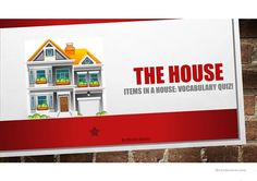 Vocabulary Words Common Household Items