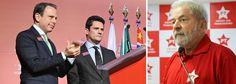 """João Doria se comporta como moleque e desrespeita Lula, o maior líder político do Brasil. O prefeito eleito de São Paulo, João Dória Jr (PSDB), reafirmou nesta terça-feira, 4, que """"visitará&#…"""
