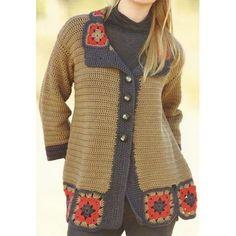 Modèle à tricoter gratuit Gillet Femme Laine Katia Merino Sport