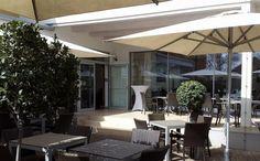 Solero Sonnenschirme Gastroschirm Patio Landhotel Birkenhof Gols Outdoor Decor, Home Decor, Fine Dining, Lawn And Garden, Decoration Home, Room Decor, Home Interior Design, Home Decoration, Interior Design