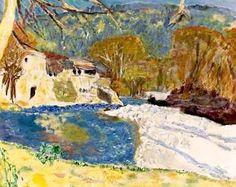 Pierre Bonnard - Paysage Blanc a la Riviere