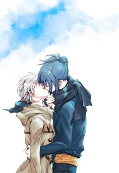 No. 6 ~~ Passionate embrace :: Shion & Nezumi
