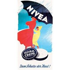 Nivea. Old Poster.