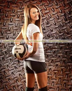 Katie's sophomore year volleyball picture from Musick Photography #volleyball