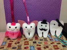 Fada do dente e seus assistentes