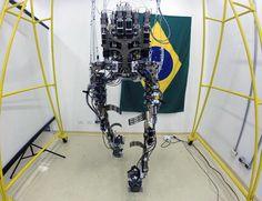 Un hombre biónico hará el saque de honor del Mundial Brasil 2014