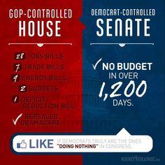 Contrasting political satire