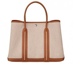 Hermes Canvas Garden Party Bag