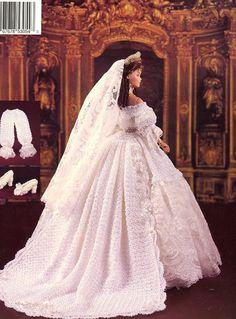 Vol 43.....1840 Queen Victoria's Wedding Gown.... (back) ★ℒℴѵℯ