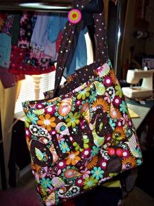 Owl Personalized tote/baby bag by Sky Simone #Skysimone