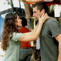 JACK SHEPHARD (MATTHEW FOX) AND KATE AUSTEN (EVANGELINE LILLY)  Lost (2004-2010)
