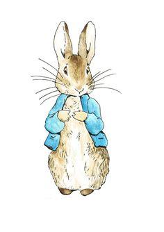 Peter Rabbit Digital Print Nursery Instant by AllThePrettyPictures