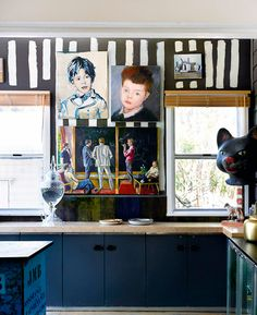 David and Yuge Bromley's home, via The Design Files. The entire house is amazing! The Design Files, Küchen Design, House Design, Interior Design Kitchen, Interior Decorating, Interior Styling, Sweet Home, Byron Bay, Interior Inspiration