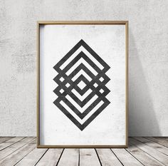 Geometric Art - Geometric Art Prints - Abstract Geometric Art Print - Nordic Art - Minimalist Art Prints   PRINTING OPTIONS  Lustrous ultra smooth matt finish with good flexibility and durabilty makes Munkin Lynx my first choice in paper for my prints.  Prints size A2 and 16x20 and larger are printed onto 240g Gloss Coated Art Paper for a high quality large format poster suitable for framing.  DOWNLOADS This print can be downloaded at my download shop http://etsy.com/shop/cosmicprint…