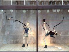 H & M, London Olympic Windows